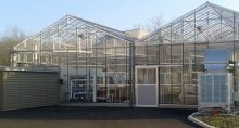 General View of the XYLOBIOTECH greenhouse
